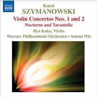 SZYMANOWSKI-VIOLIN CONCERTOS N 1 &