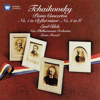 Tchaikovsky: Piano Concertos Nos. 1 & 2 - CD