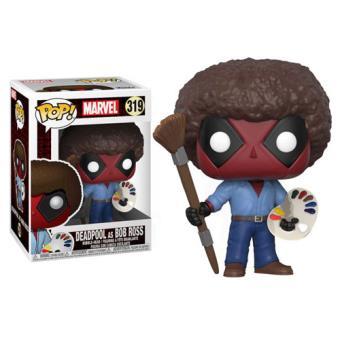 Funko Pop! Deadpool as Bob Ross - 319