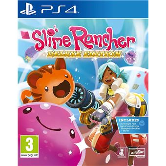 Slime Rancher : Deluxe Edition PS4