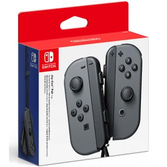 Nintendo Switch Conjunto Comandos Joy-Con Cinzento (Esquerdo+Direito)
