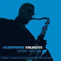 Saxophone Colossus - LP Blue 180gr Vinil
