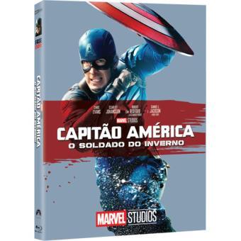Capitão América: O Soldado do Inverno - Capa de Colecionador - Blu-ray
