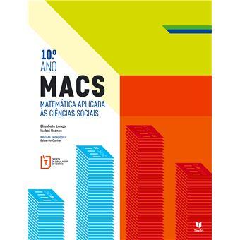 MACS Matemática Aplicada às Ciências Sociais 10º Ano - Manual do Aluno