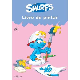 Os Smurfs - Livro de Pintar Vol. 2