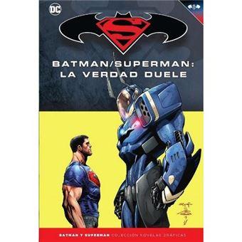 Batman superman-la verdad duele-dc-