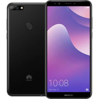 61ccdc6279482 Smartphone Huawei Y7 2018 - 16GB - Preto - SmartPhone Android ...