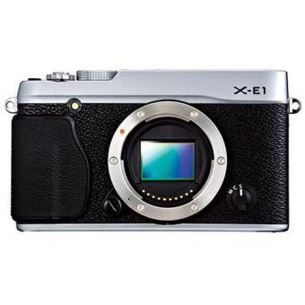Fujifilm X-E1 Corpo (Prata)