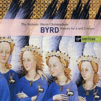 Byrd | Masses for 4 & 5 Voices (2CD)