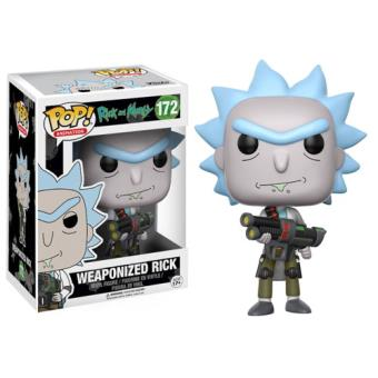 Funko Pop! Rick & Morty: Weaponized Rick - 172