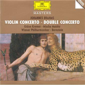 Brahms: Violin Concerto & Double Concerto - CD