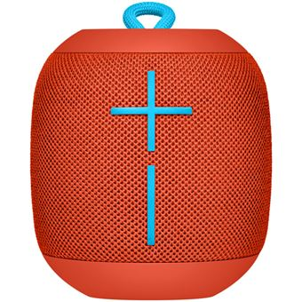 Coluna Wireless Logitech Ultimate Ears Wonderboom - Vermelho