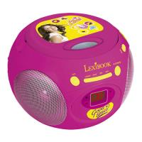 Radio Leitor CD BoomBox Soy Luna Lexibook