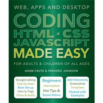 Coding HTML CSS JavaScript Made Easy