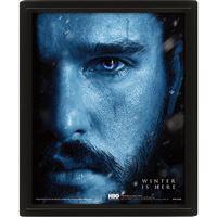 Poster 3D Lenticular Game of Thrones - Jon Snow vs Night King