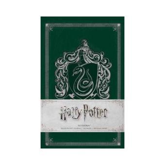 Caderno Pautado Harry Potter - Slytherin Bolso