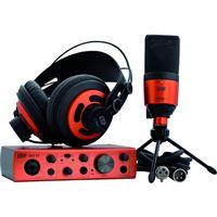 Pack Placa de Som + Microfone + Auscultadores ESI