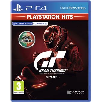 Gran Turismo Sport - Playstation Hits - PS4