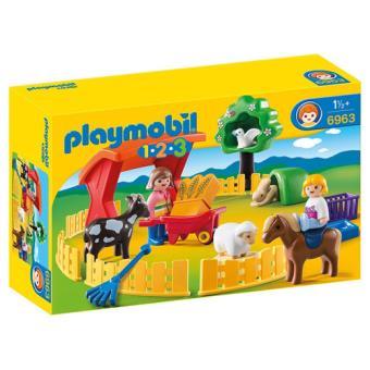 Playmobil 1.2.3. Recinto de Animais de Estimação