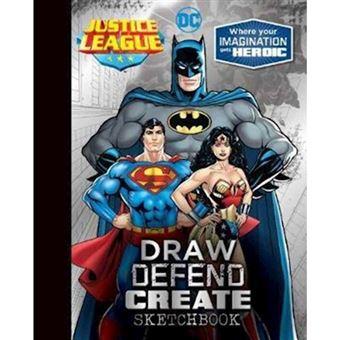 Justice league draw defend create s