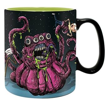 Caneca Rick and Morty: Monsters