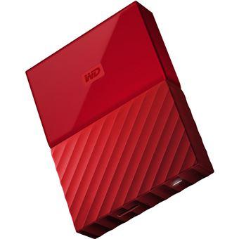 Disco Externo Western Digital My Passport 2,5'' - 2TB - Vermelho