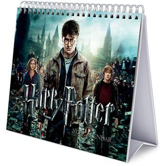 Calendário de Secretária Deluxe 2020 Harry Potter