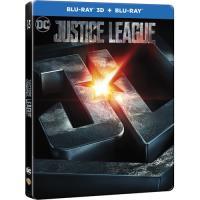 Liga da Justiça - Edição Steelbook Blu-ray 3D + 2D