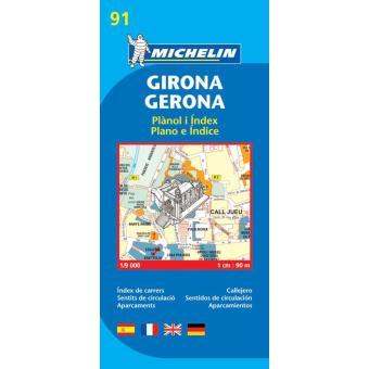 Girona Mapa Michelin Plano 91