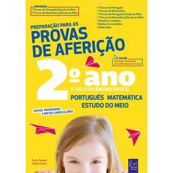 Preparação Para as Provas de Aferição - Português, Matemática e Estudo do Meio 2º Ano