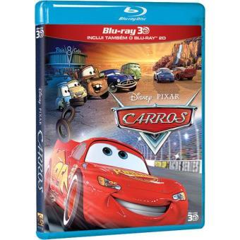 3c15824e5 Carros (Blu-ray 3D + 2D) - Disney - DVD Zona 2 - Compra filmes e DVD ...