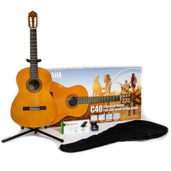 Pack Guitarra Clássica Yamaha C40 Performance