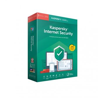Anti-Virus Kaspersky Internet Security 2019 3 dispositivos 1- Ano