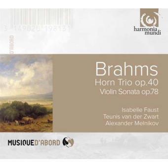 Brahms   Horn Trio Op. 40, Violin Sonata Op. 78 & Fantasies Op. 116
