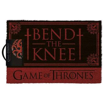 Tapete de Porta Game of Thrones: Bend the Knee
