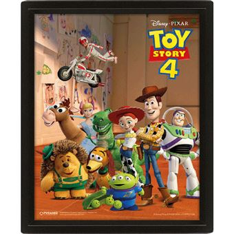 Poster 3D Lenticular Toy Story 4