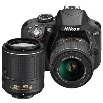 Nikon D3300 + AF-S DX 18-55mm f/3.5-5.6G + AF-S DX NIKKOR 55-200mm f/4-5.6G VR