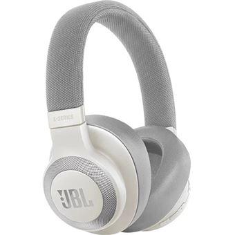 Auscultadores Bluetooth JBL E65BTNC - Branco