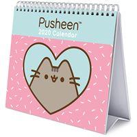 Calendário de Secretária Deluxe 2020 Pusheen - Rose Collection