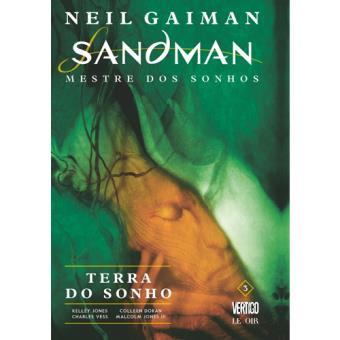 Sandman: Mestre dos Sonhos - Livro 3: Terra do Sonho