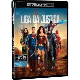 Liga da Justiça - 4K Ultra HD
