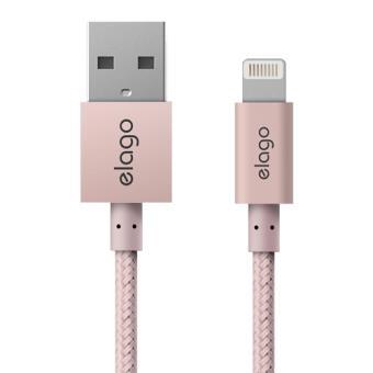 Cabo Lightning Aluminio Elago Sync e Charge 1M - Rose Gold