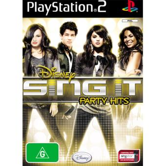 Disney Sing It Party Hits PS2