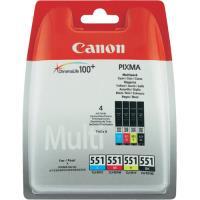 Canon Pack Tinteiros CLI-551 C/M/Y/BK