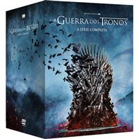Guerra dos Tronos | Game of Thrones - A Série Completa - DVD