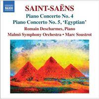 Saint-Saëns: Piano Concertos Nos. 4 & 5 - CD
