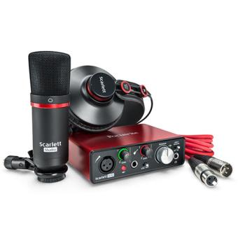 Pack Scarlett Solo Studio 2nd Gen Focusrite
