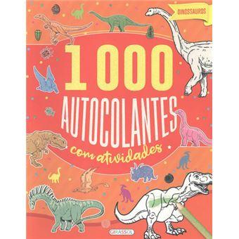Dinosauros - 1000 Autocolantes com Actividades