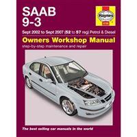 Saab 9-3 Service And Repair Manual : 02-07