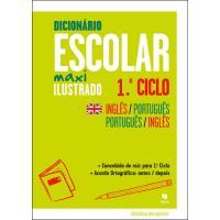 Dicionário Escolar Ilustrado Maxi Ilustrado 1º Ciclo - Inglês